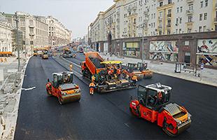 Комплексный ремонт дорог
