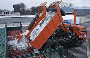 Вывоз и утилизация снега